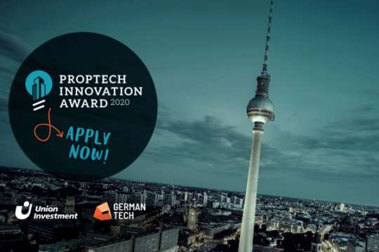 Die Initiatoren Union Investment und GERMANTECH suchen beim PropTech Innovation Award konkrete Antworten auf die drängenden Fragestellungen der Immobilienbranche. www.proptech-innovation.de