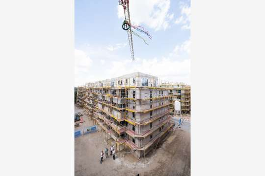 WATERKANT Berlin, Richtkranz Teilprojekt 1 Copyright: City-Press